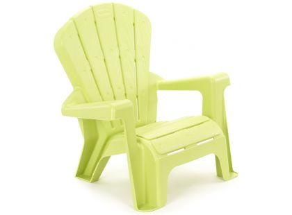Little Tikes Zahradní židlička zelená