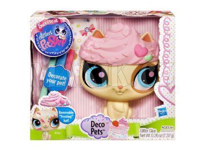 Littlest Pet Shop Dekorativní zvířátko Hasbro - Kočka