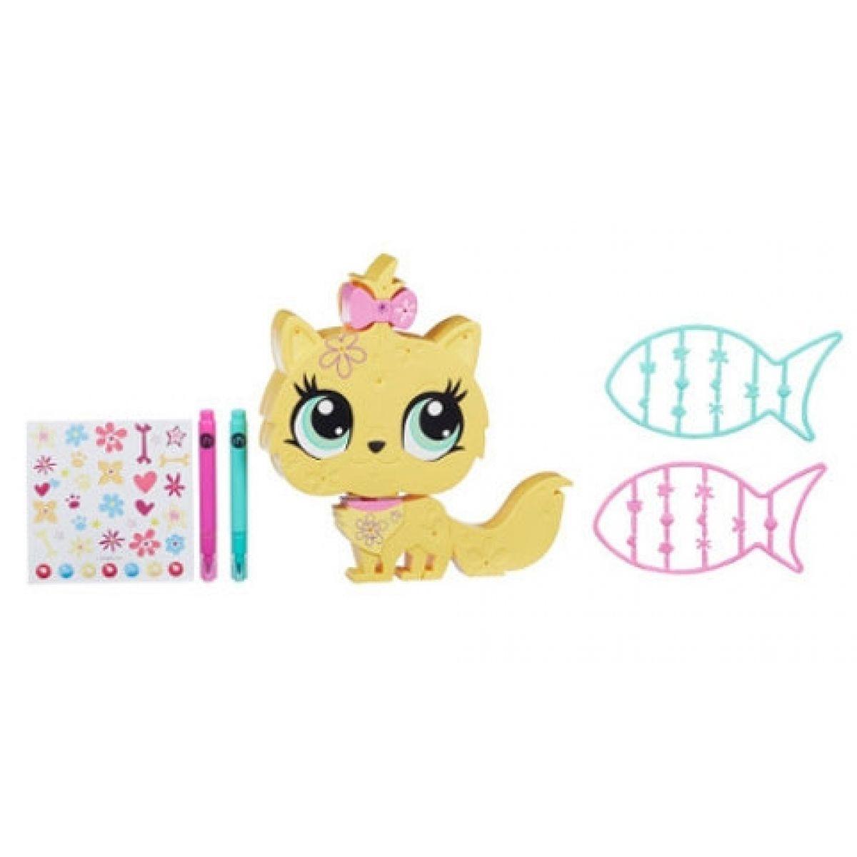 Littlest Pet Shop Dekorativní zvířátka - Kočička