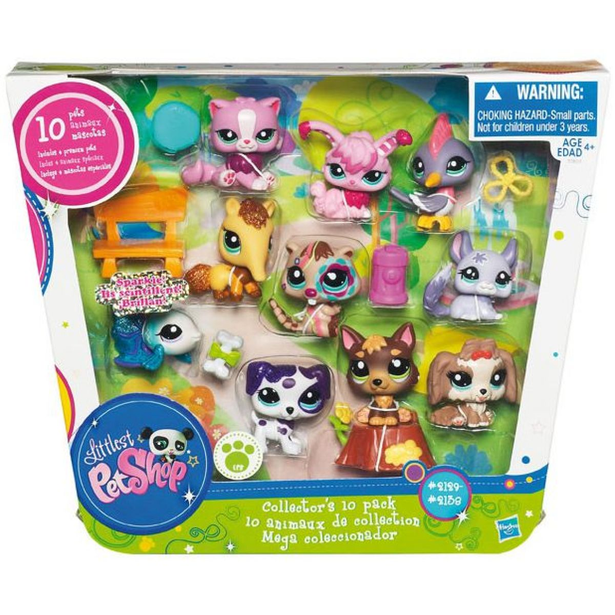 Littlest Pet Shop deset zvířátek ve speciální kolekci Hasbro 32803