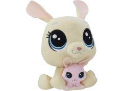 Littlest Pet Shop Duo plyšových zvířátek Vanilla Velvetears