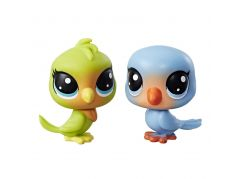 Littlest Pet Shop Dvě zvířátka Lolly Lovington + Leo Lovefeather