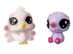 Littlest Pet Shop Dvě zvířátka Perky Peagoat + Kaybelle O'Kiwi