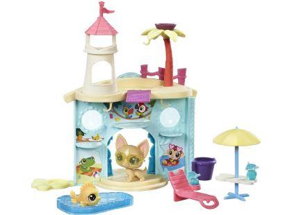 Littlest Pet Shop Hrací set se 2 zvířátky Splash Park Party