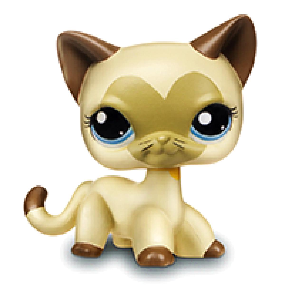 Littlest Pet Shop Jednotlivá zvířátka B - 3573 Kočka