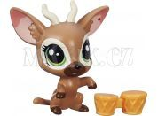 Littlest Pet Shop jednotlivá zvířátka B A8229 - Bongo Brill