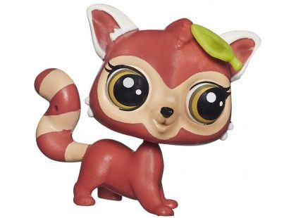 Littlest Pet Shop jednotlivá zvířátka B A8229 - Stripes Reddy