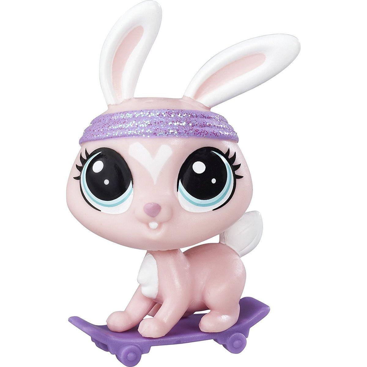 Littlest Pet Shop jednotlivá zvířátka B A8229 Ritzy Speedster