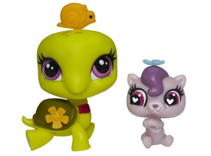 Littlest Pet Shop Maminka s miminkem - A8430 Želva a vydra