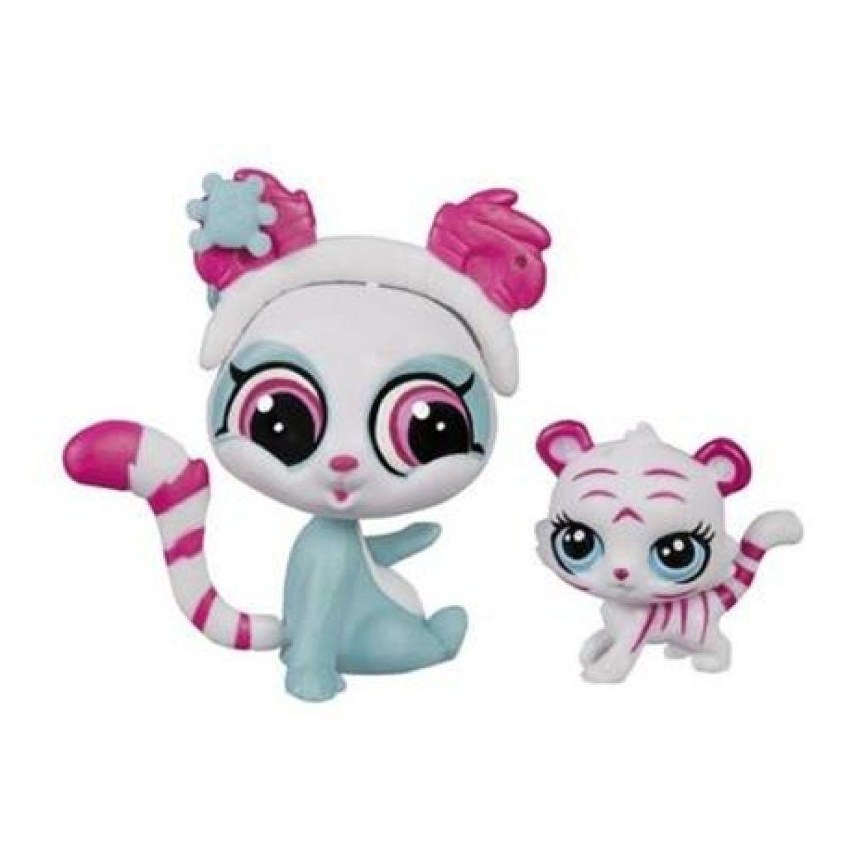 Littlest Pet Shop Maminka s miminkem - A9395 Panda a tygr