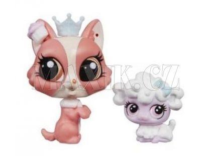 Littlest Pet Shop Maminka s miminkem - A9397 Pejsek a ovečka