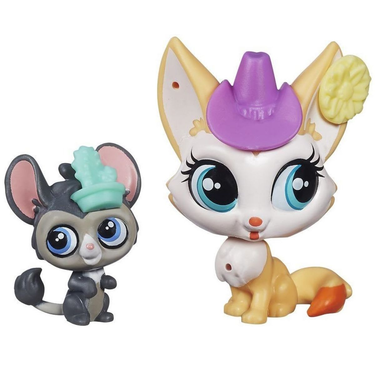 Littlest Pet Shop Maminka s miminkem - B0098 Roxy Reddington a Dusty West