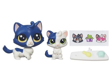Littlest Pet Shop Maminka s miminkem - B4763 Kočičky