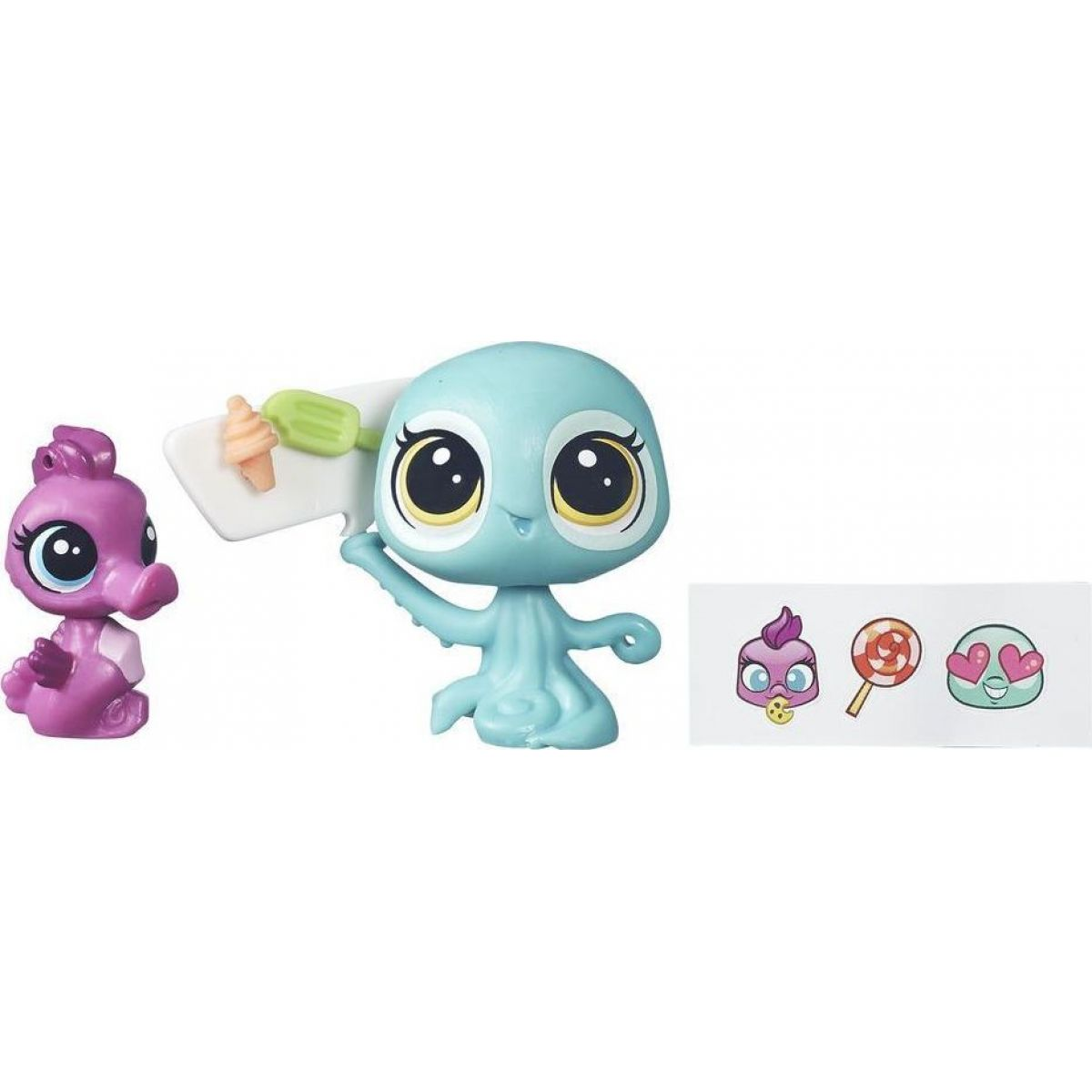 Littlest Pet Shop Maminka s miminkem B5691 Coralina Reefton a Aya Waterly