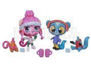 Littlest Pet Shop Módní páry zvířátek - Winter Pet Pair