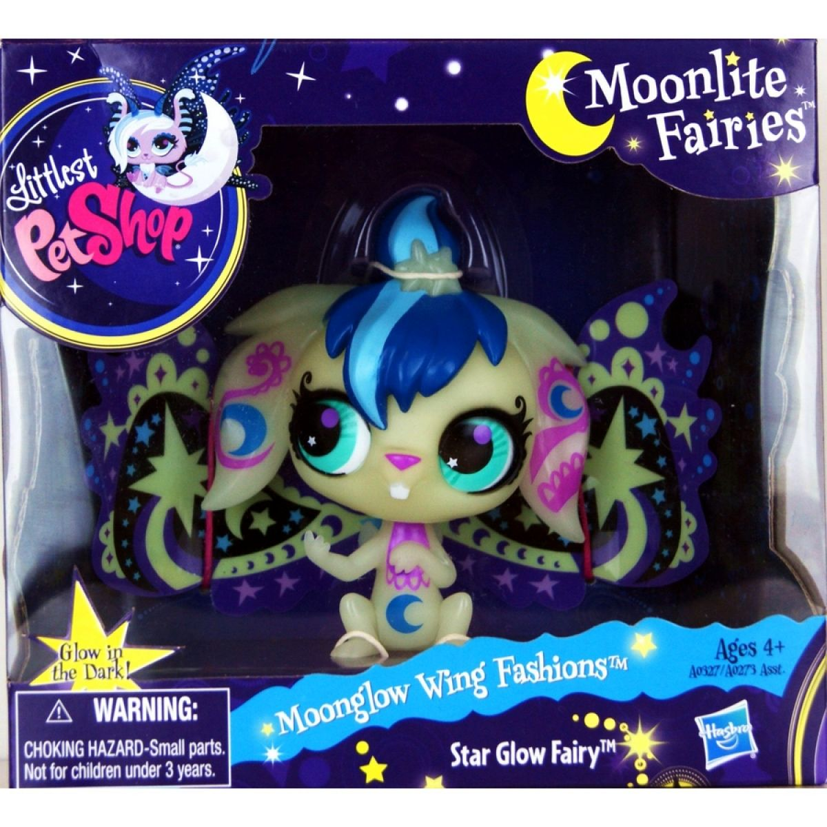 Littlest Pet Shop Půlnoční fosforeskující víly Hasbro