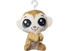 Littlest Pet Shop Plyšák s klipem Cliks Monkeyford