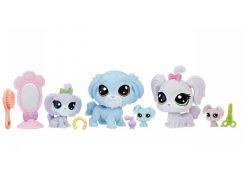 Littlest Pet Shop Rodinné balení zvířátek Módní salón