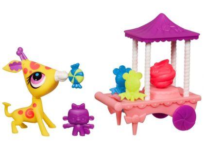 Littlest Pet Shop sladká zvířátka s pohybem - 3134 Žirafa