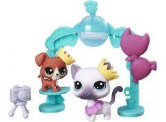 Littlest Pet Shop Tematický set se 2 zvířátky C0047 School Dance Smiles