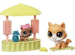 Littlest Pet Shop Tematický set se 2 zvířátky C0048 Pool House
