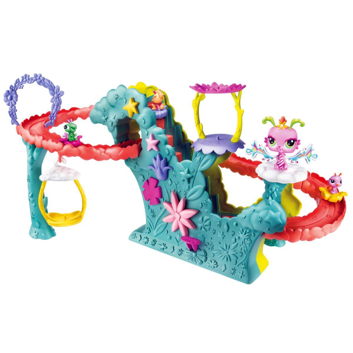 Littlest Pet Shop Velký hrací set Okouzlující víly