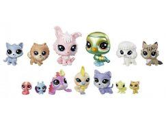 Littlest Pet Shop Velké balení 13 ks zvířátek Diva Squad E1012