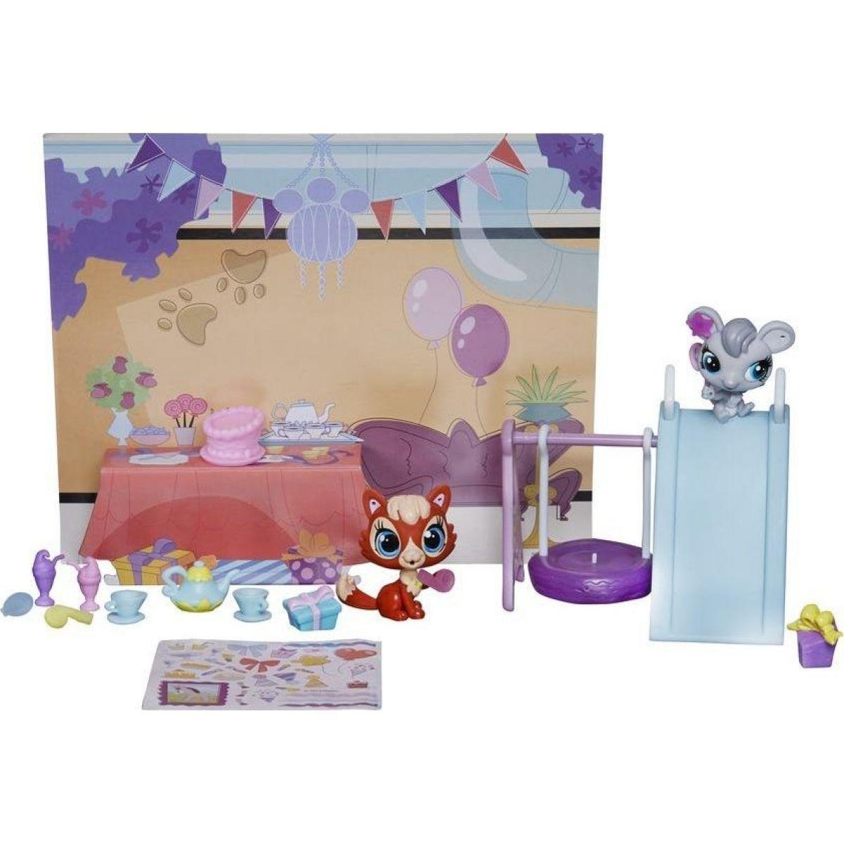 Littlest Pet Shop Zvířátko s doplňky do domečku A7642 - Pet Party