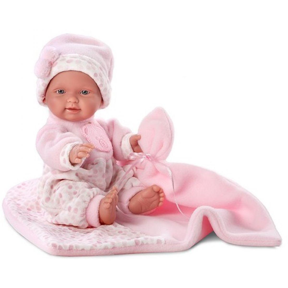 Llorens 26262 Panenka New Born s dekou