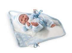 Llorens panenka New Born chlapeček 26269 - Poškozený obal