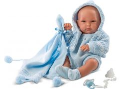 Llorens panenka New Born chlapeček 63539