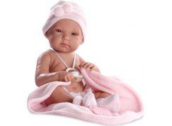 Llorens panenka New Born holčička s doplňky 63530