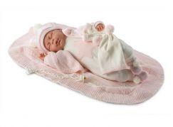 Llorens panenka New Born spící 74046