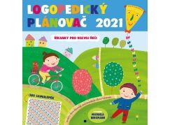 Logopedický plánovač 2021 (se samolepkami)