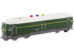 Lokomotiva se zvukem a světlem 35 cm zelená