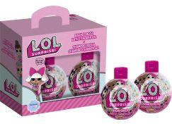 L.O.L. dárková sada šampon 300ml, koupelový a sprchový gel 300 ml
