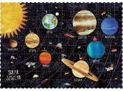 Londji Kapesní puzzle Objev planety - 100 dílků