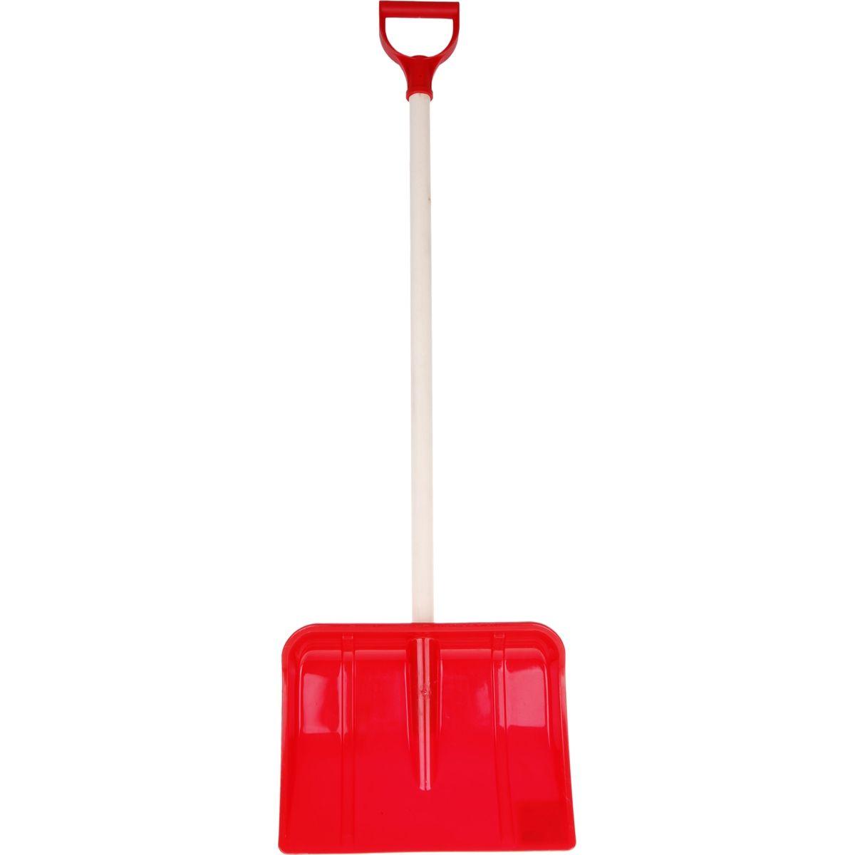 Lopata na vyhrnování sněhu 95cm - Červená