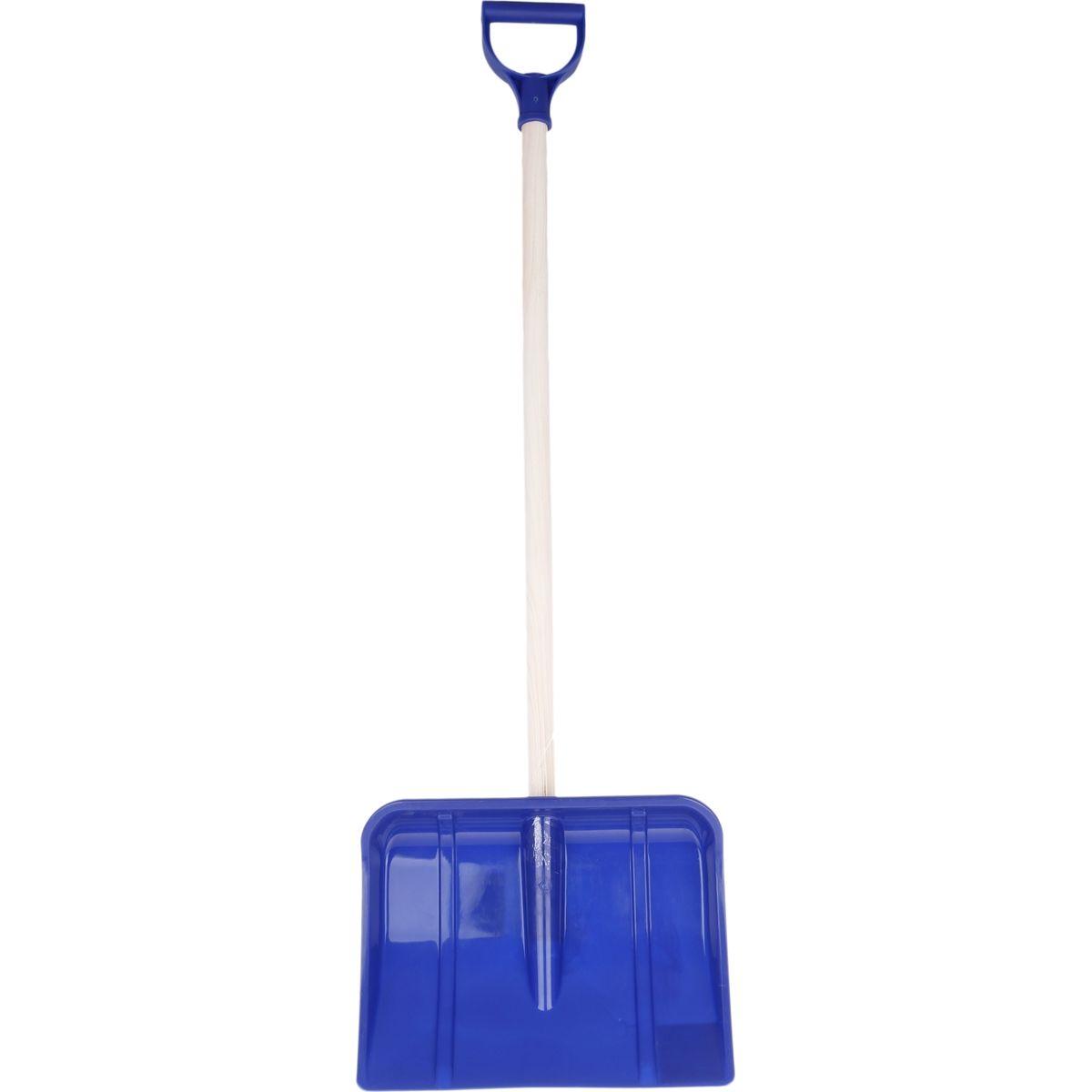 Lopata na vyhrnování sněhu 95cm - Modrá