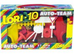 LORI 10 Auto-team 37 dílků