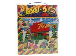 Lori 5 stavebnice - 76 dílů