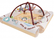 Ludi Hrací deka/ohrádka s hrazdou Ptáčci