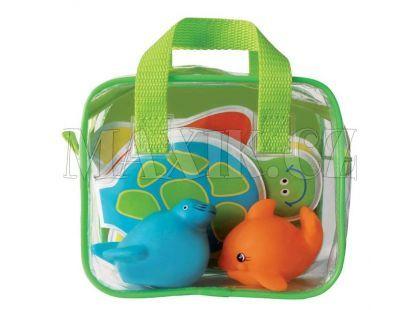 Ludi Hračky a kniha do koupele - Zelená
