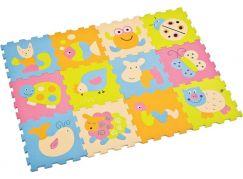 Ludi Pěnové puzzle Baby zvířátka 122x92cm