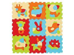 Ludi Puzzle pěnové 90x90 cm Zvířátka