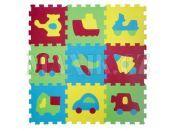 Ludi Puzzle pěnové 84x84 cm dopravní prostředky