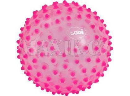 Ludi Senzorický míček 20cm růžový