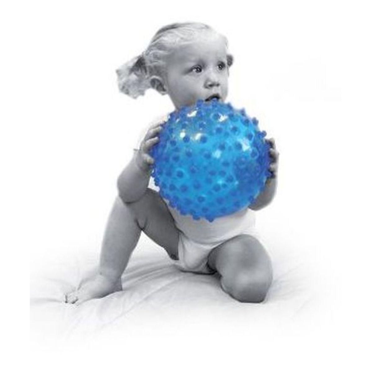 Ludi Senzorický míček 20cm modrý #3