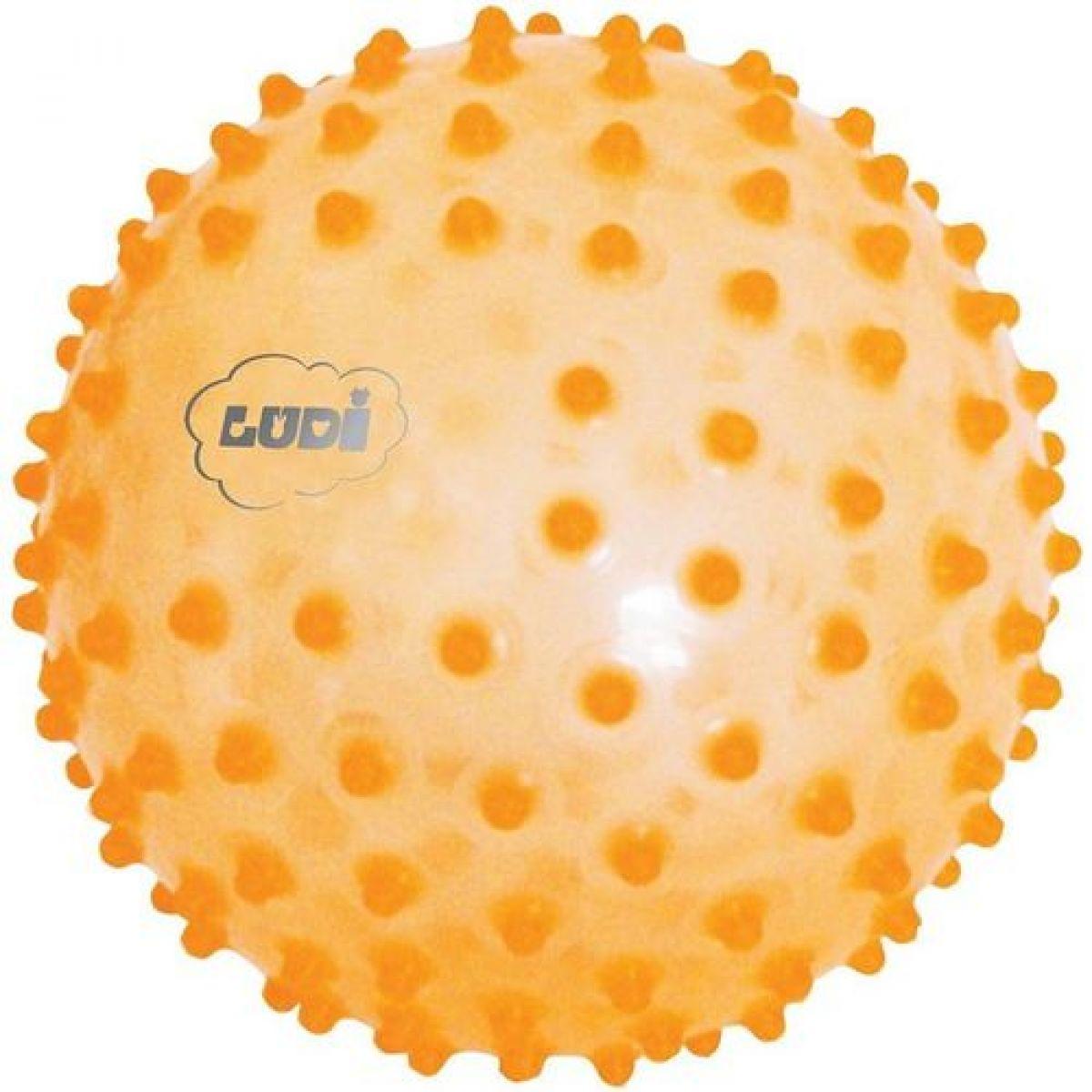 Ludi Senzorický míček 20cm oranžový