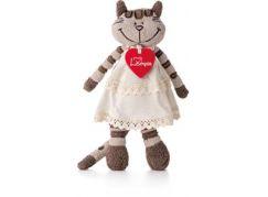 Lumpin Kočka Angelique v šatech malá